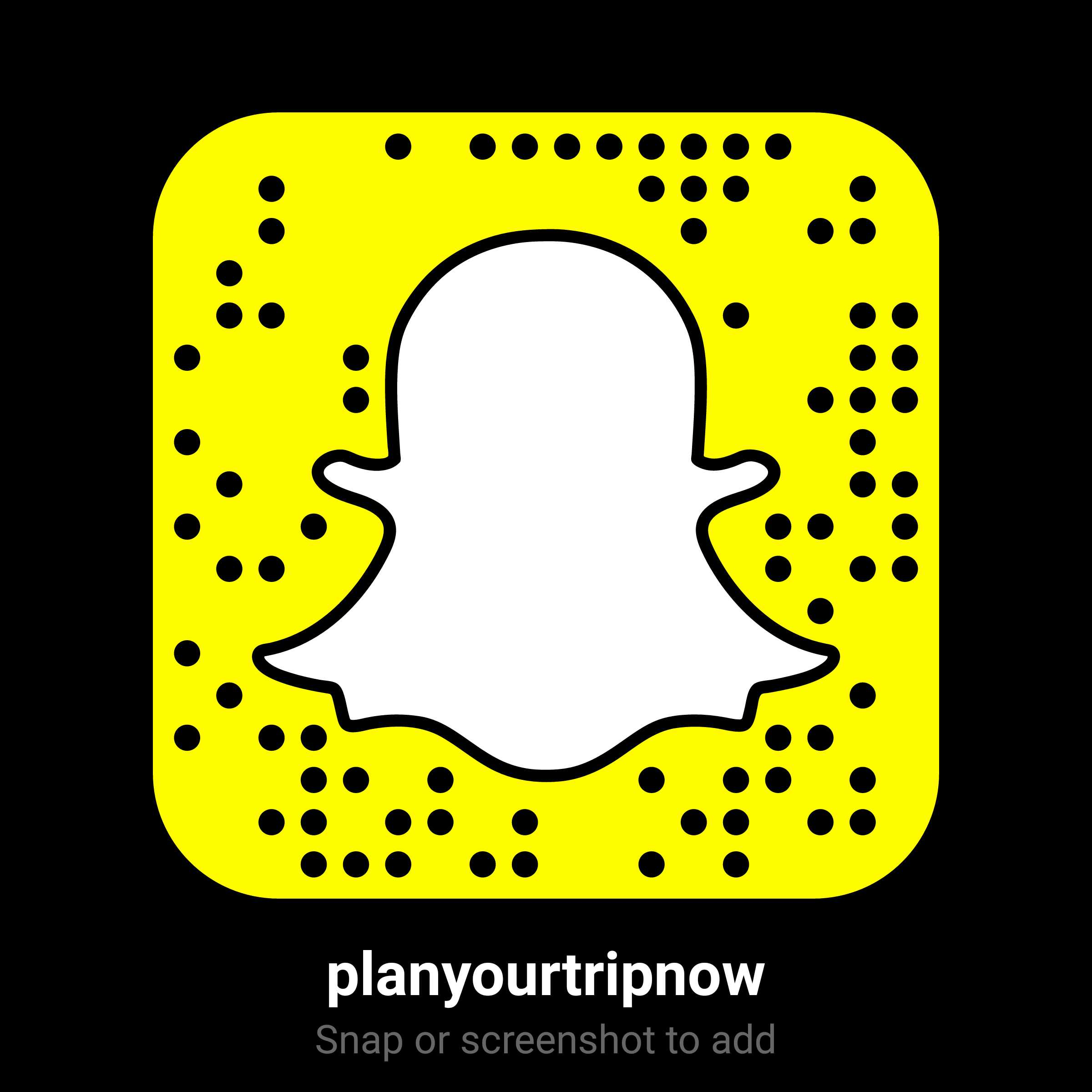 Plan Your Trip Now Snapchat