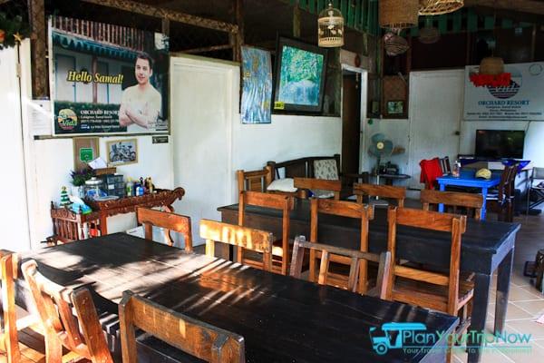 La Vida Orchard Samal Dining Area