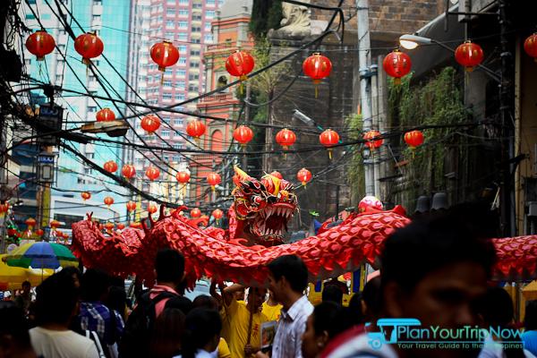 Dragon Dancers - Celebrate Chinese New Year in Manila Chinatown
