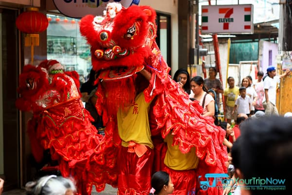 Dragon Dancers - Celebrate Chinese New Year in Manila Chinatown-0893
