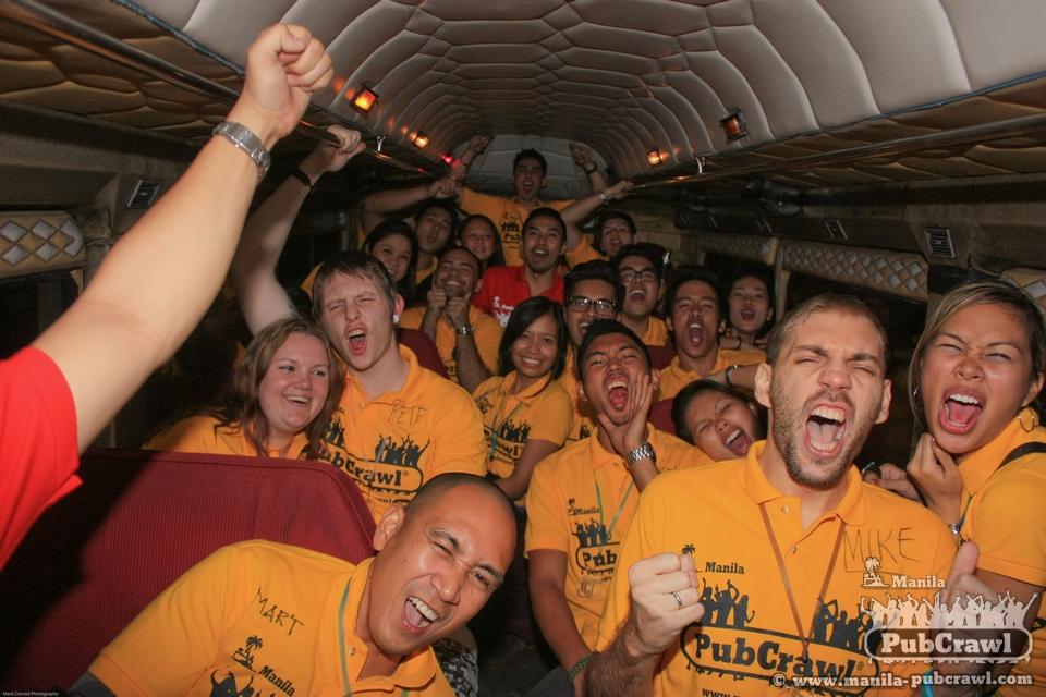Manila Pub Crawl jeepney