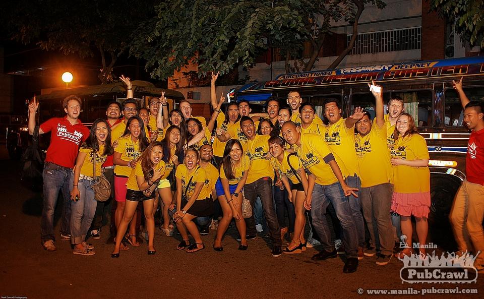 Manila Pub Crawl Makati