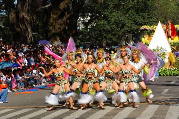 panagbenga festival street dancers