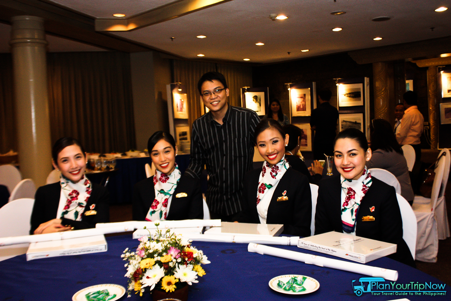 with the Philippine Airlines' Flight Attendants