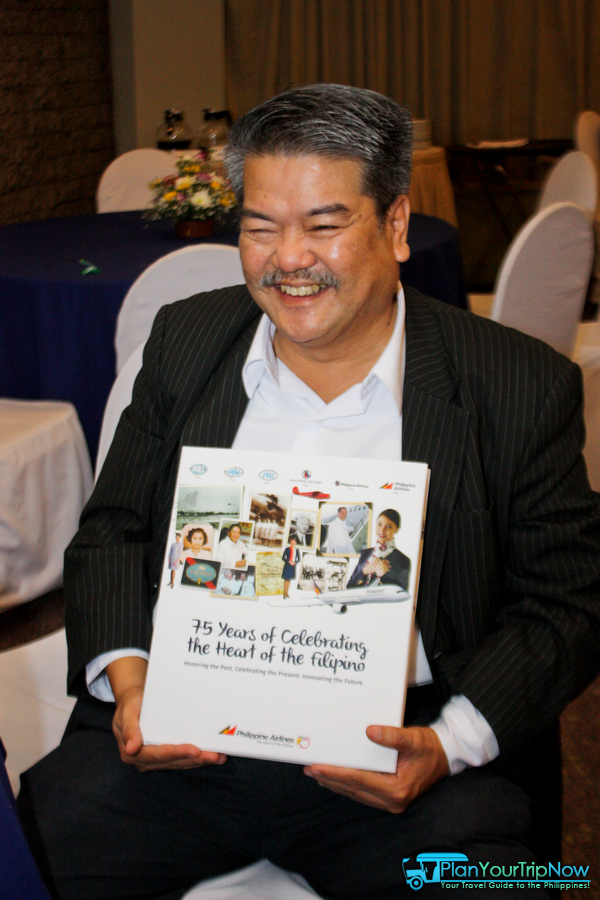 Mr. Jonathan P. Gesmundo, Editor in Chief of PAL's coffee table book