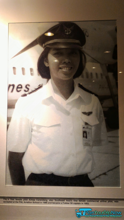 Philippine Airlines first female pilot