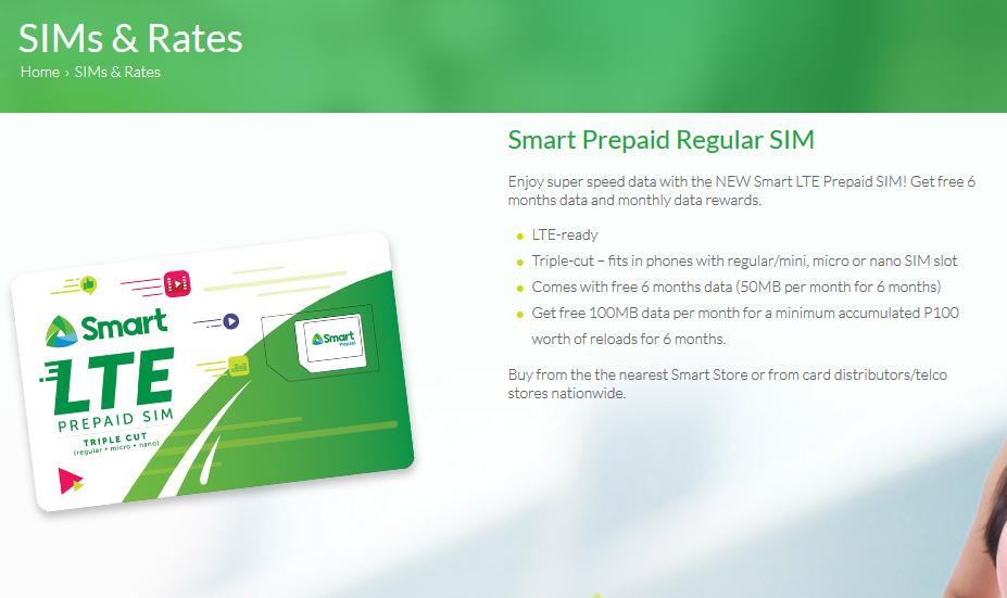 Smart Prepaid SIM