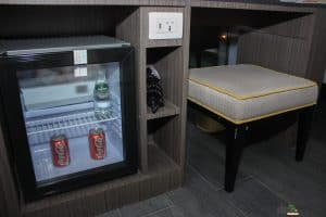 Refrigerator and electric sockets
